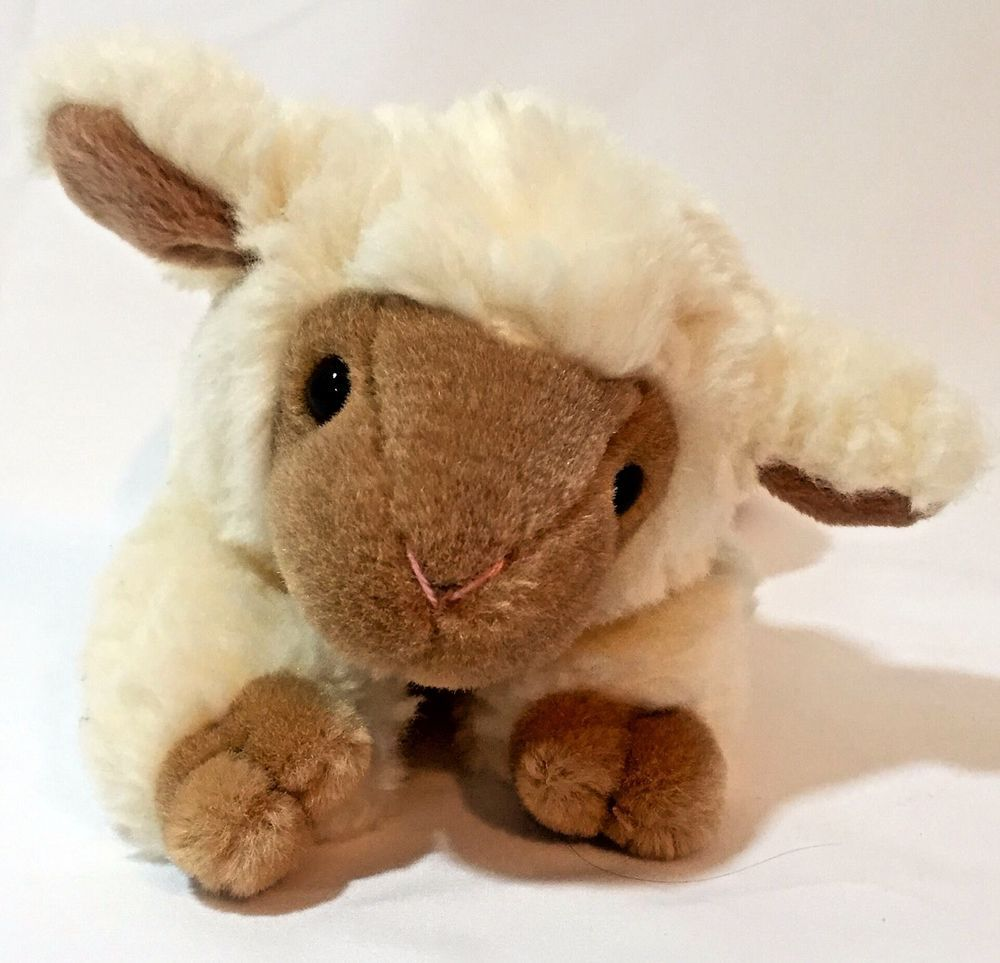 """Gund Retired """"Lambsalot"""" # 3319. Look at this adorable little lamb. How can you not take this one home?. 