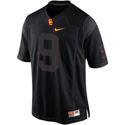 Nike USC Trojans 2013 Blackout Game #9 Limited Jersey - Black ...
