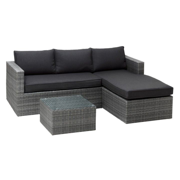 Elegant lounge set balkon for Balkon lounge set