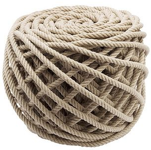 nautical rope ottoman beach cottage life beach house
