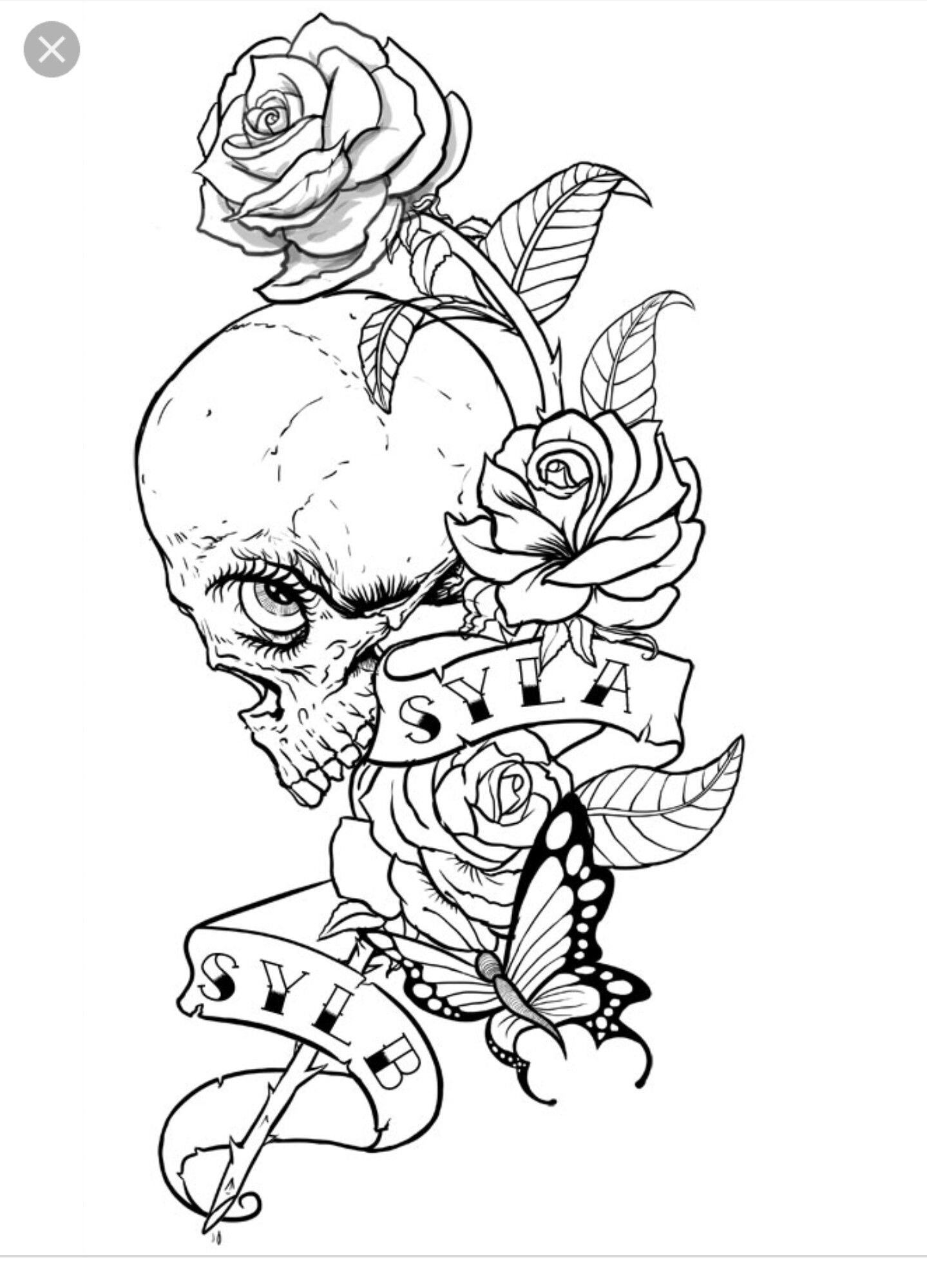Pin By Womaninarmorandwarpaint On Skulls Skeletons Skull Coloring Pages Unicorn Coloring Pages Coloring Pages