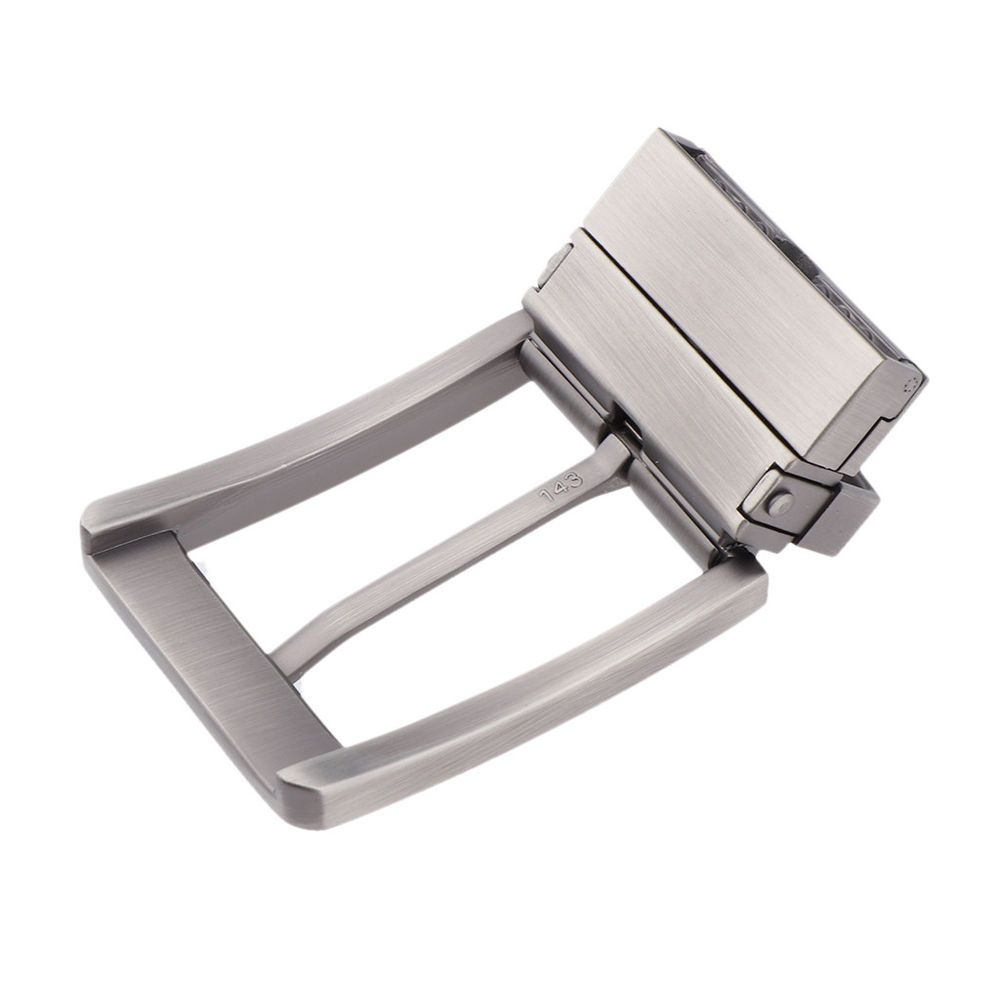 1x Gold Brass Pin Buckle Men Leather Belt Replacement Strap Craft Accessory Chic