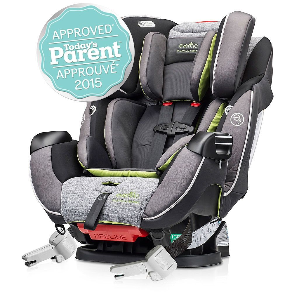 Evenflo Symphony DLX Platinum Protection Series All in One Car Seat