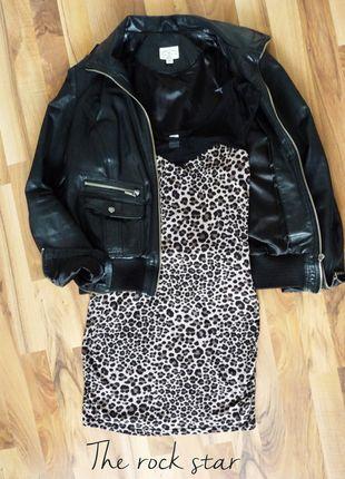 Perfekt outfit for autumn 2016 #Kleiderkreisel http://www.kleiderkreisel.de/damenmode/kurze-kleider/99545256-schickes-kurzes-partykleid-mit-leopardmuster