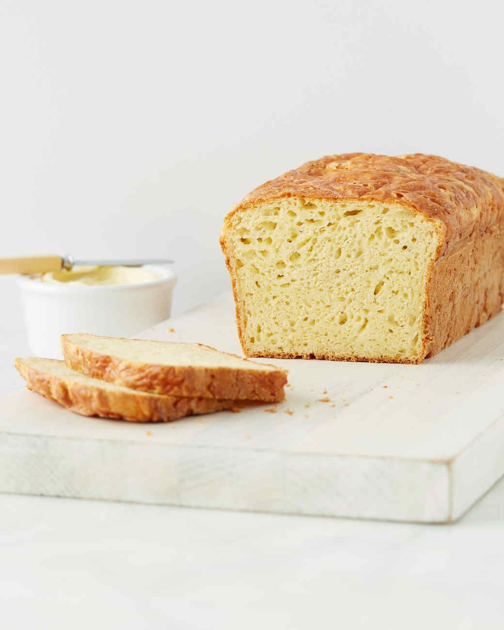 Buttermilk Gives This Cheesy Quick Bread A Subtle Tang And Keeps It Nice And Moist Serve With Plenty Of Butter Martha Made This Recipe On Recipes Food Bread