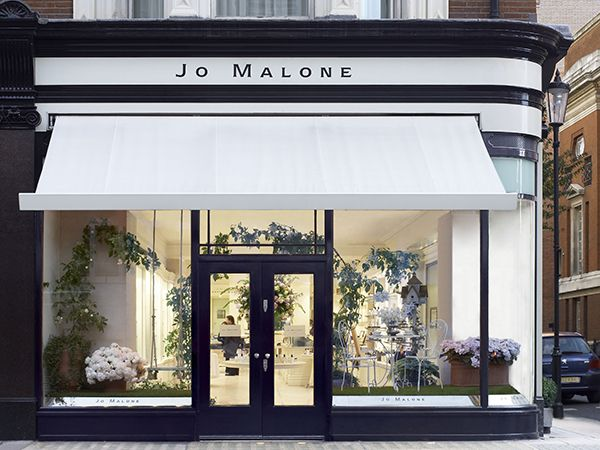 Jo Malone London, Sloane Street Boutique -Shop front Pinterest - fachadas originales
