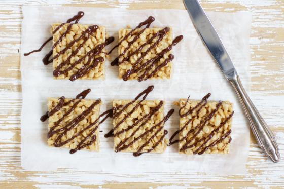 Rouskuvaa ja pähkinäistä: Peanut Butter riisipalat - Yummy Baker - Yummy Baker - Helsingin Sanomat