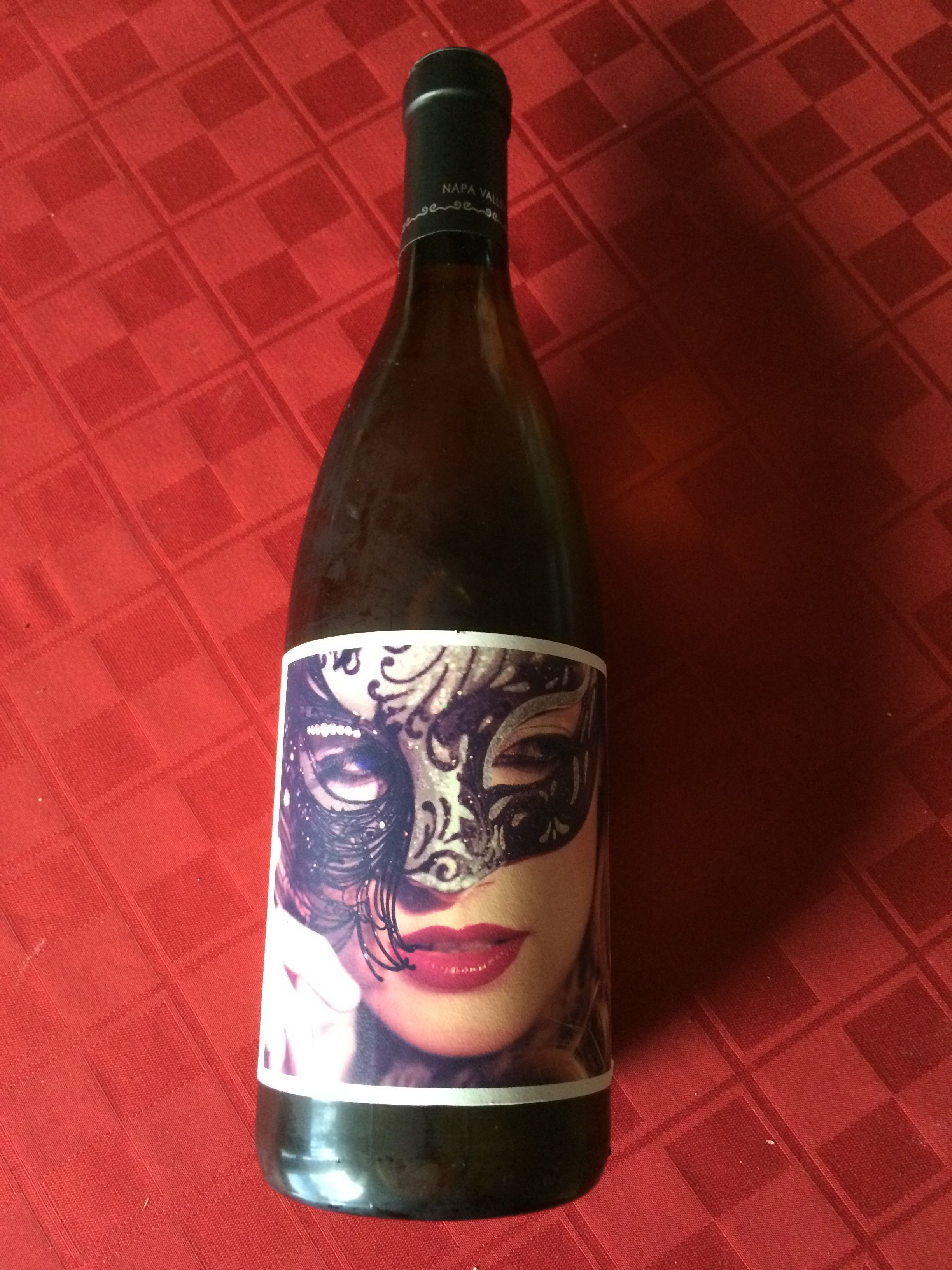 This Is Osso Anna Chardonnay A Perfect Pick For Mardi Gras Wine Bottle Chardonnay Mardi Gras