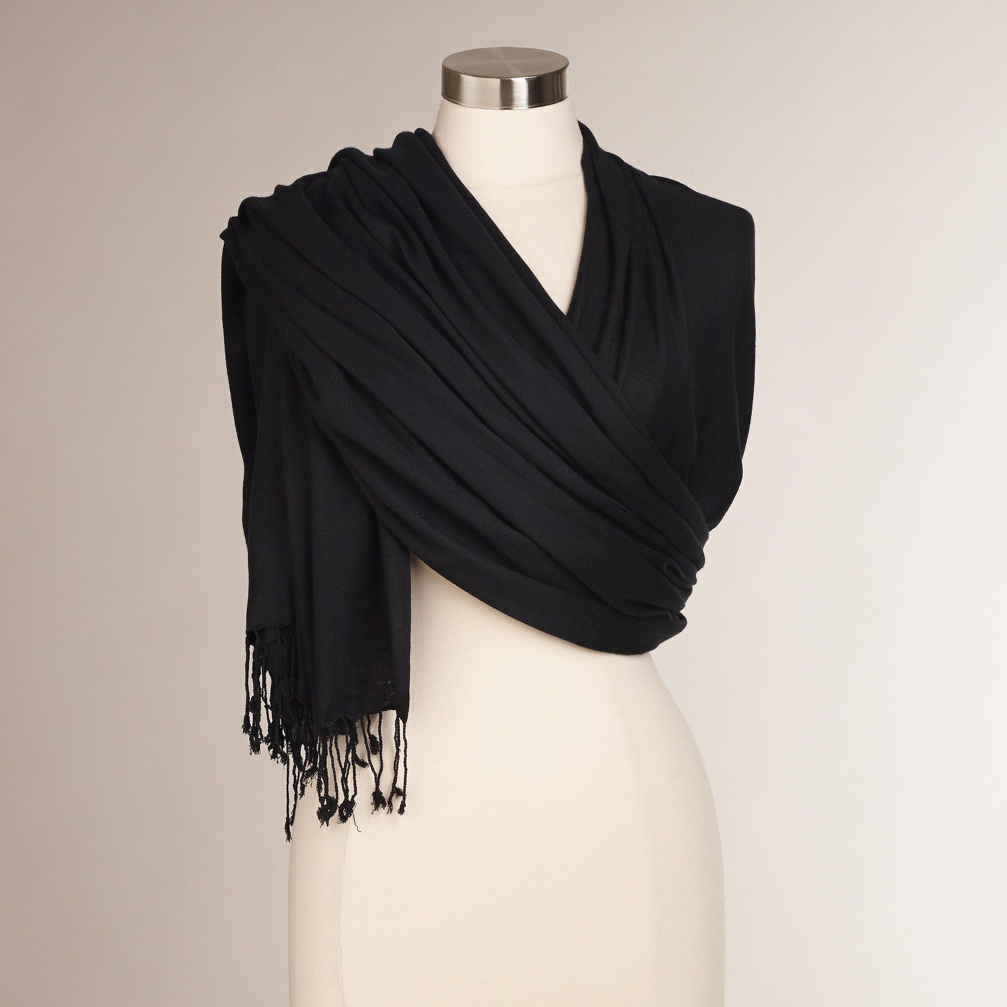 Black pashmina style shawl pashmina shawl dress with