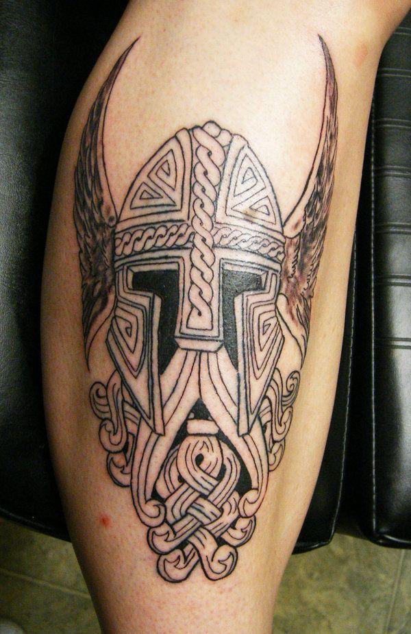 50d2a64ec6879b viking helmet tattoo - Google Search | viking shit | Helmet tattoo ...