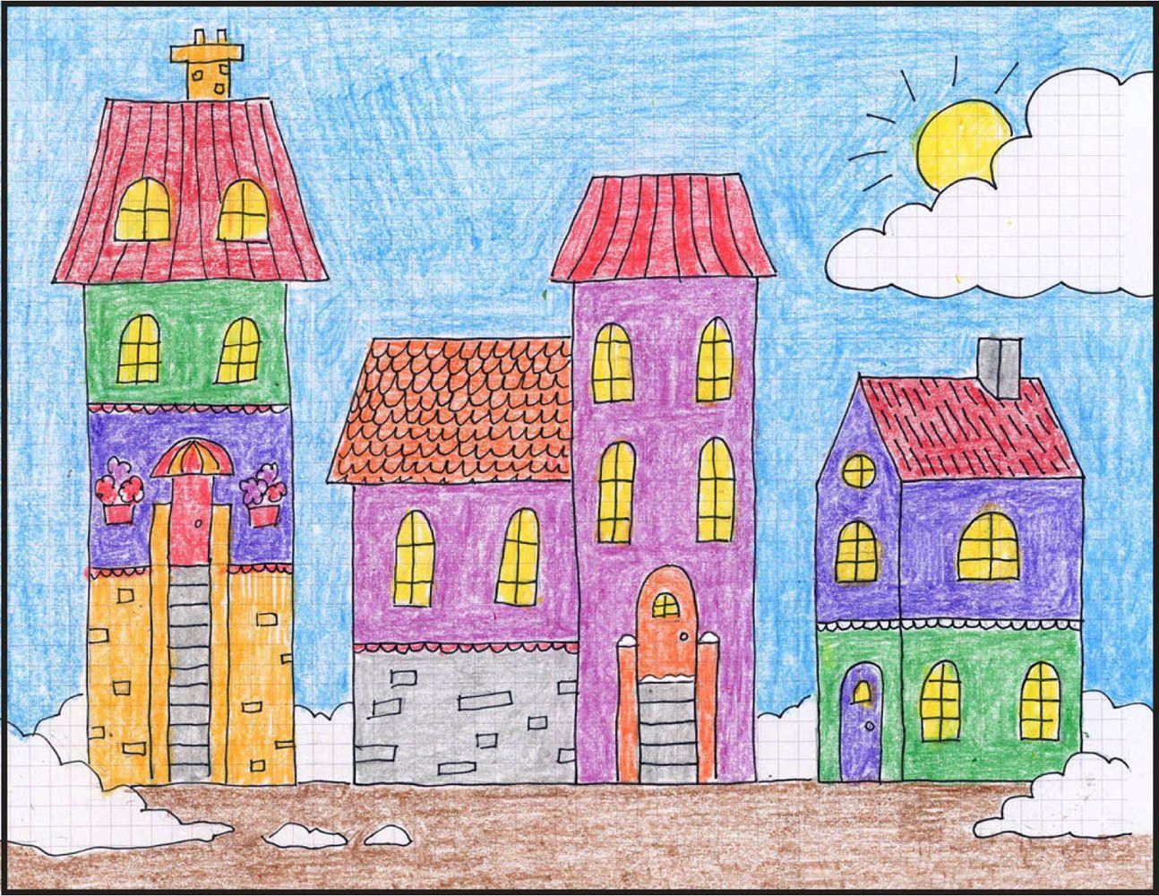 его рисунок с домами 6 класс неотделима строительного