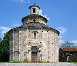 Rotonda di San Tomè - Almenno San Bartolomeo - XII sec. - stile romanico bergamasco