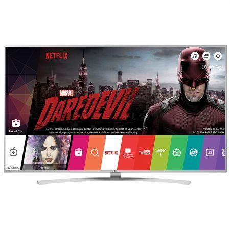 """Телевизор SUHD Smart LG, 49""""(123 cm), 49UH7707, 4K Ultra HD, Wi-Fi  От пикселите до основата, телевизорът LG SUPER UHD е едно върховно достижение сред LCD моделите. Неговият IPS 4K Quantum екран има 10-битова матрица, която генерира над милион богати цветове и ярки живи изображения, каращи всичко друго да бледнее. Еволюционната картина е допълнена с изключителната звукова система от Harman/Kardon™ и многоканална система от високоговорители.   👉  https://profitshare.bg/l/173994"""