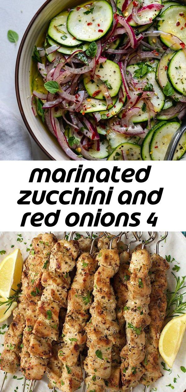 Marinated zucchini and red onions 4 These Marinated Zucchini and Red Onions are the perfect snack salad topper bowl mixin or side dish to any meal They are made with whit...