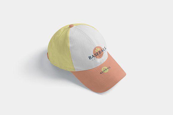 Download 4 Baseball Cap Mockups Baseball Cap Cap Mockup
