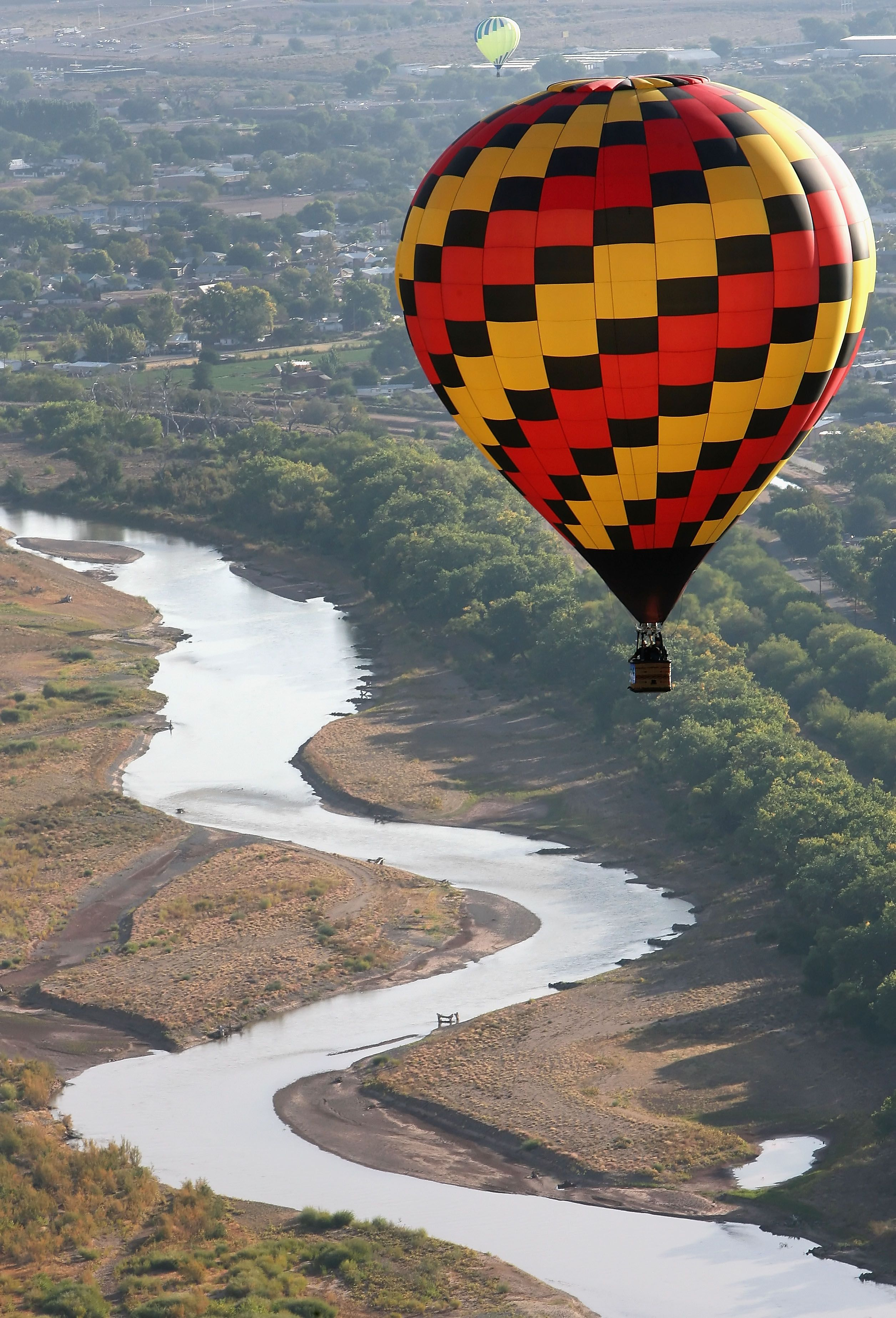 hot air balloon ride. or get proposed to in a hot air
