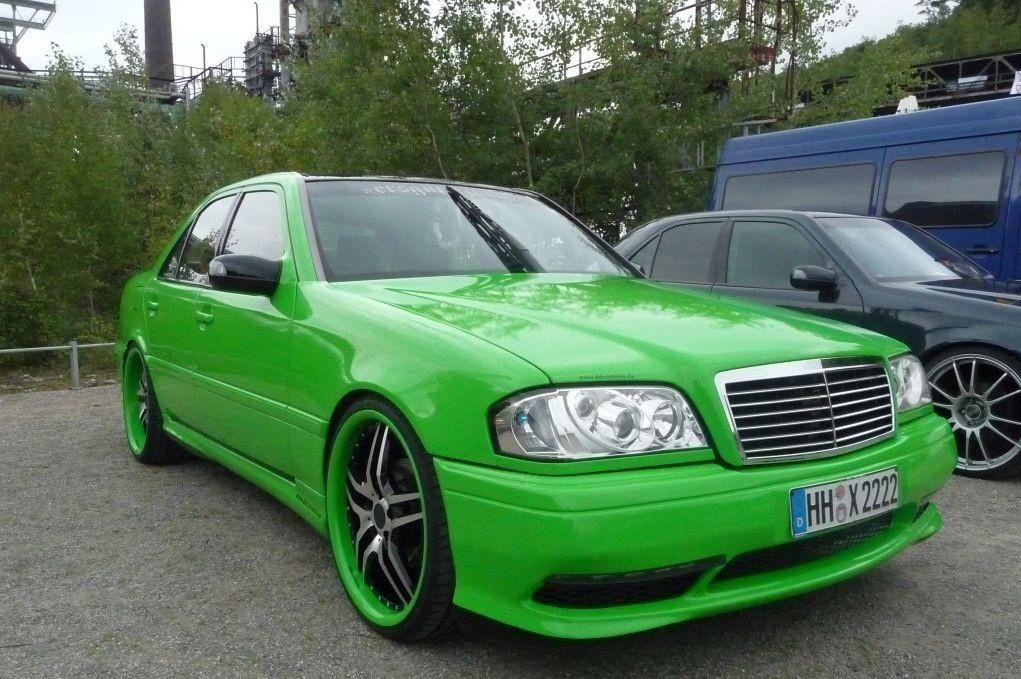 Mercedes benz c class w202 green mercedes benz mercedes for Mercedes benz c class w202