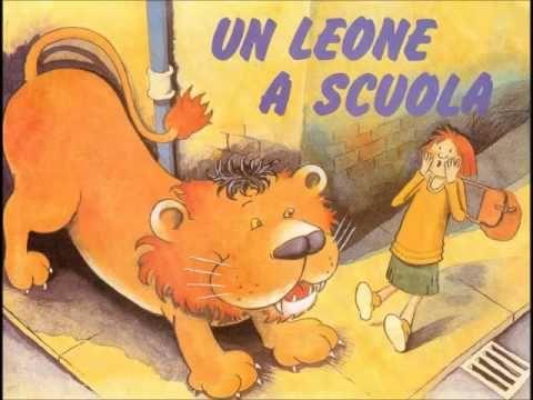 Un Leone A Scuola Racconti Per Bambini Youtube Italiano
