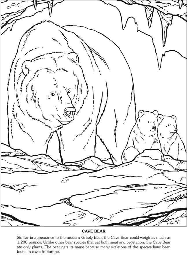 ice age animals coloring pages - photo#40