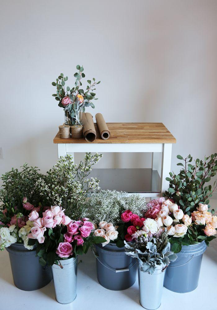 Ideia de decoração com flores