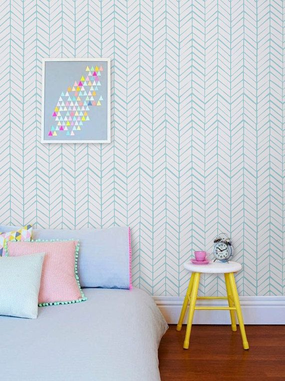Awesome And Artistic Vinyl Material Self Adhesive Temporary Wallpaper, Easy  To Use! Peel It, Stick It And LOVE It! Add To Your Room Personalised Charm  Only ...