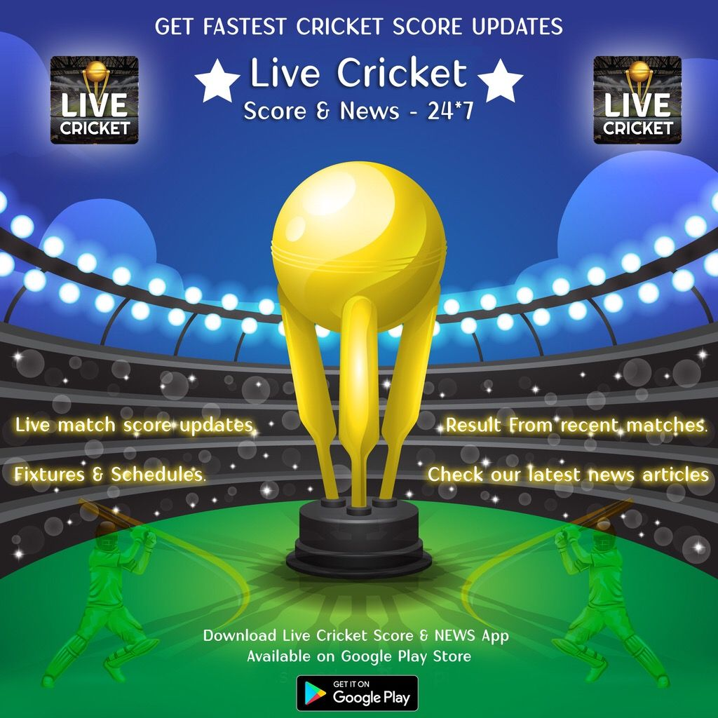 Fastest cricket score update ever  App is available now on Play