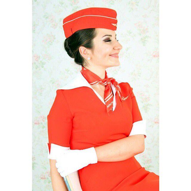 Обои стюардесса фотосессия фото 395-587