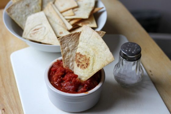 Make and share this Homemade Tortilla Chips recipe from Food.com.
