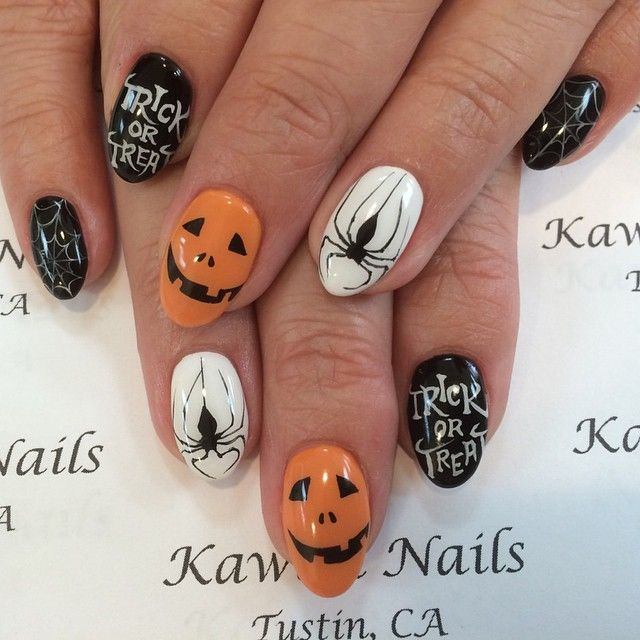 Instagram media kawaii_nails_tustin_ca halloween #nail # ...