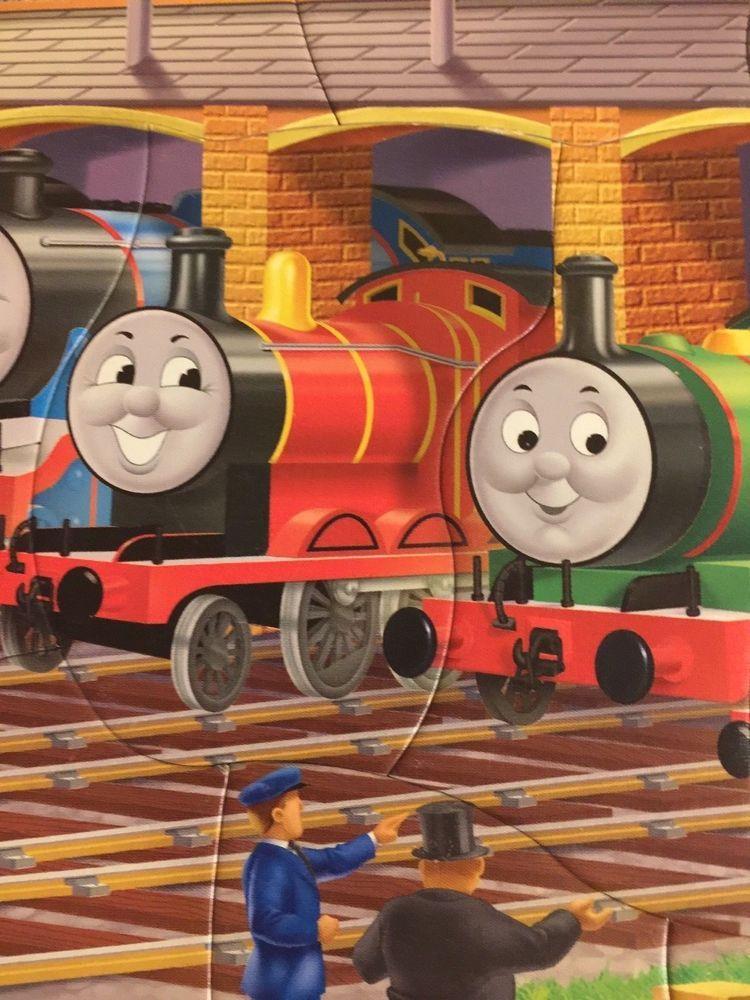 Details about Ravensburger Puzzle Thomas Train Engines At