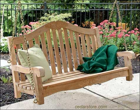 Porch Swing Ideas For Your Porch, Deck Or Patio