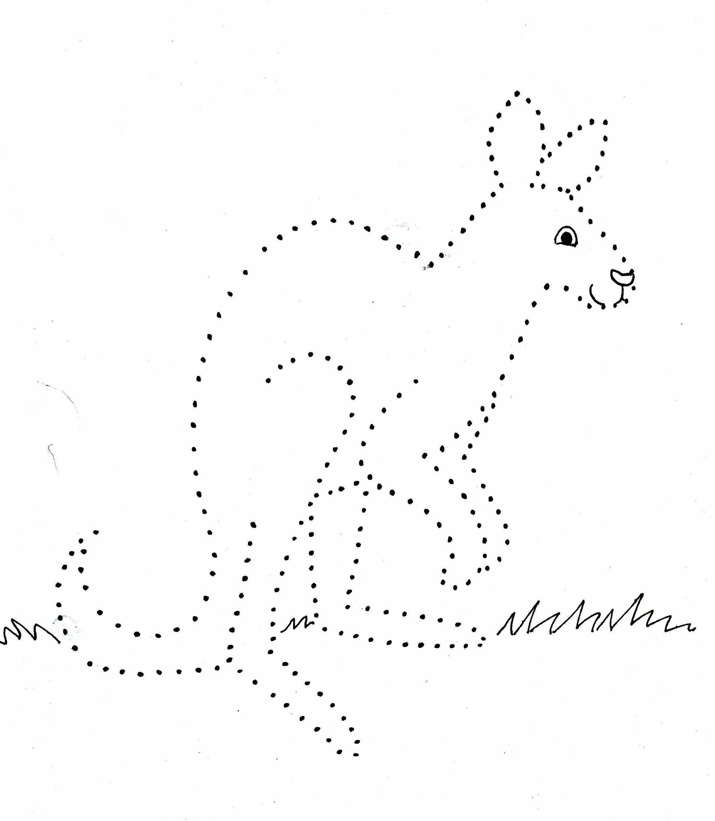 Image Result For Dotted Line Animal Pictures