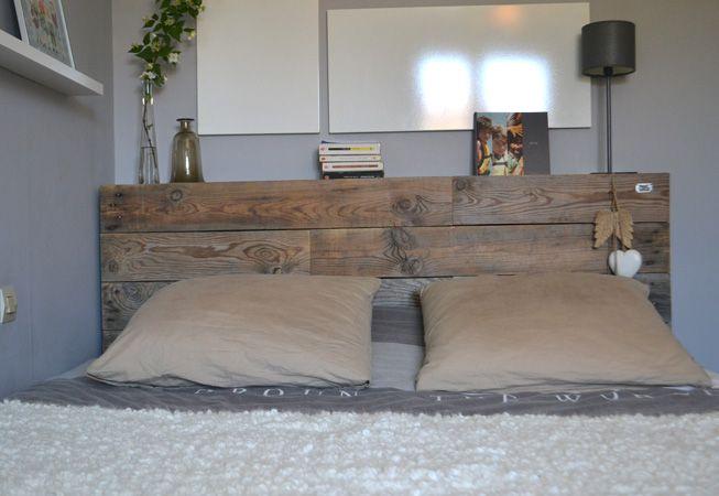 Tête de lit avec étagères  Idées pour la maison  Pinterest