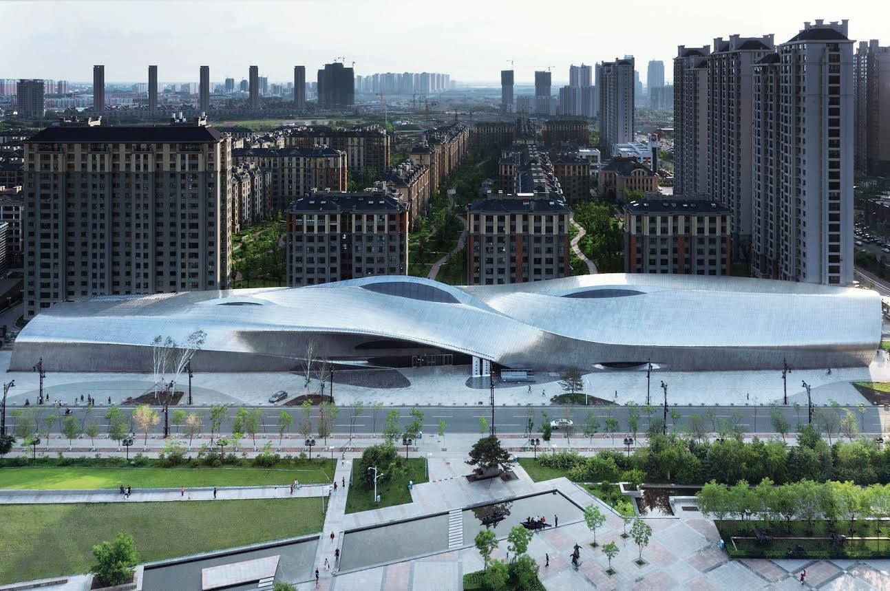 China Wood Sculpture Museum | MAD Architects