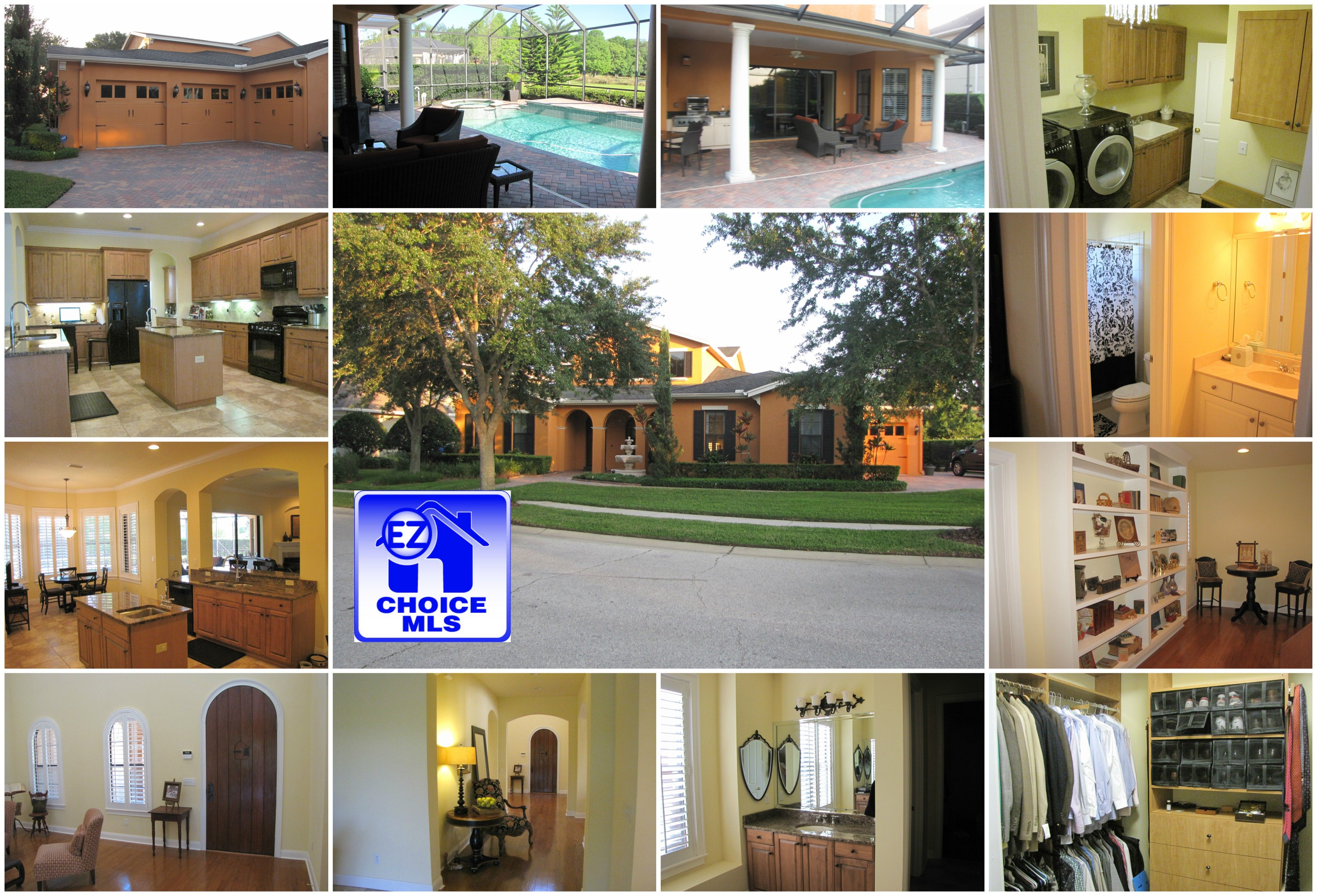 Beautiful upscale gated community home surrounded by