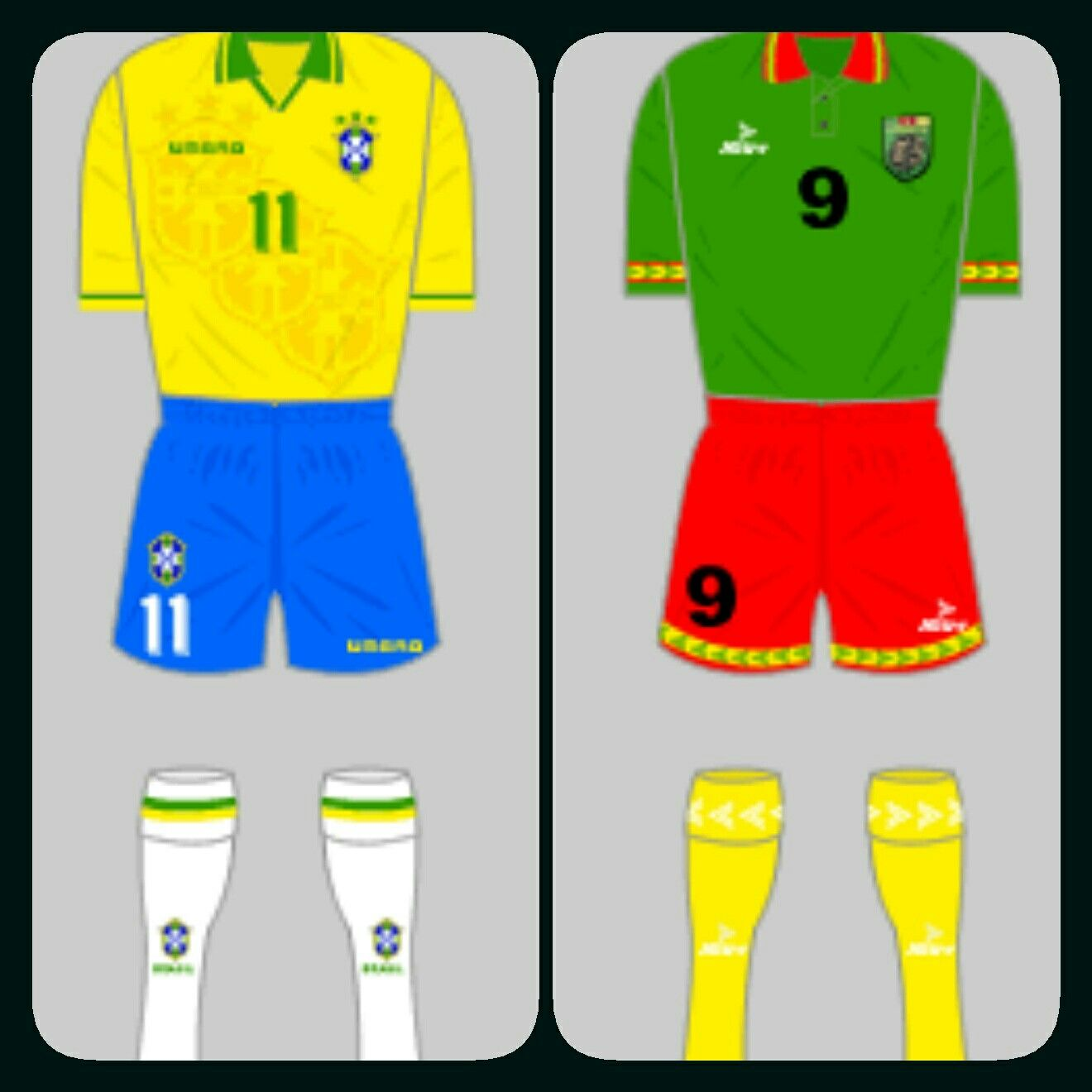 Brazil 3 Cameroon 0 in 1994 at San Francisco. Brazil make the next phase after this win in Group B #WorldCupFinals