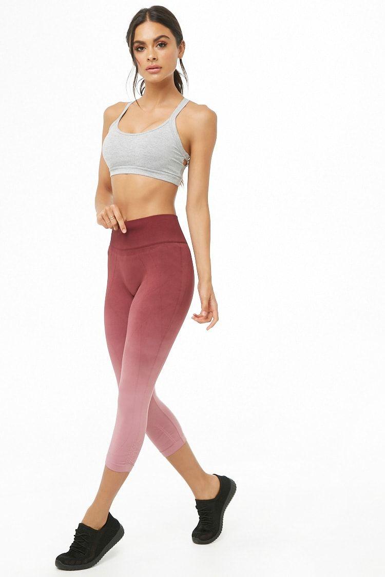 bdbab0f1d8e6a Active Ombre Capri Leggings   clothes in 2019   Capri leggings ...