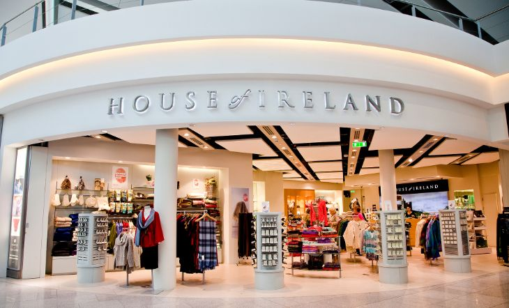 House of Ireland in T1 & T2 Dublin airport, Airport