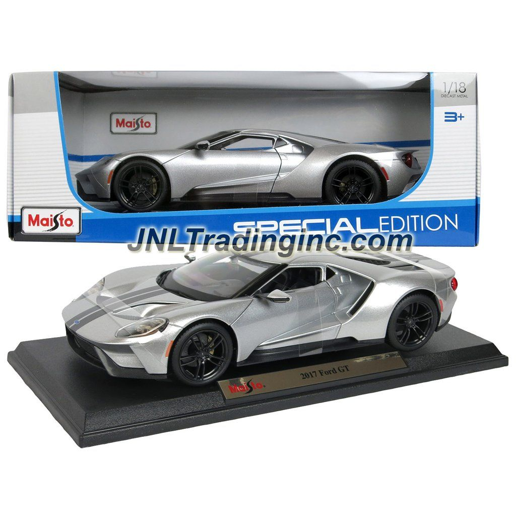 Maisto special edition series 1 18 scale die cast car silver sports coupe 2017
