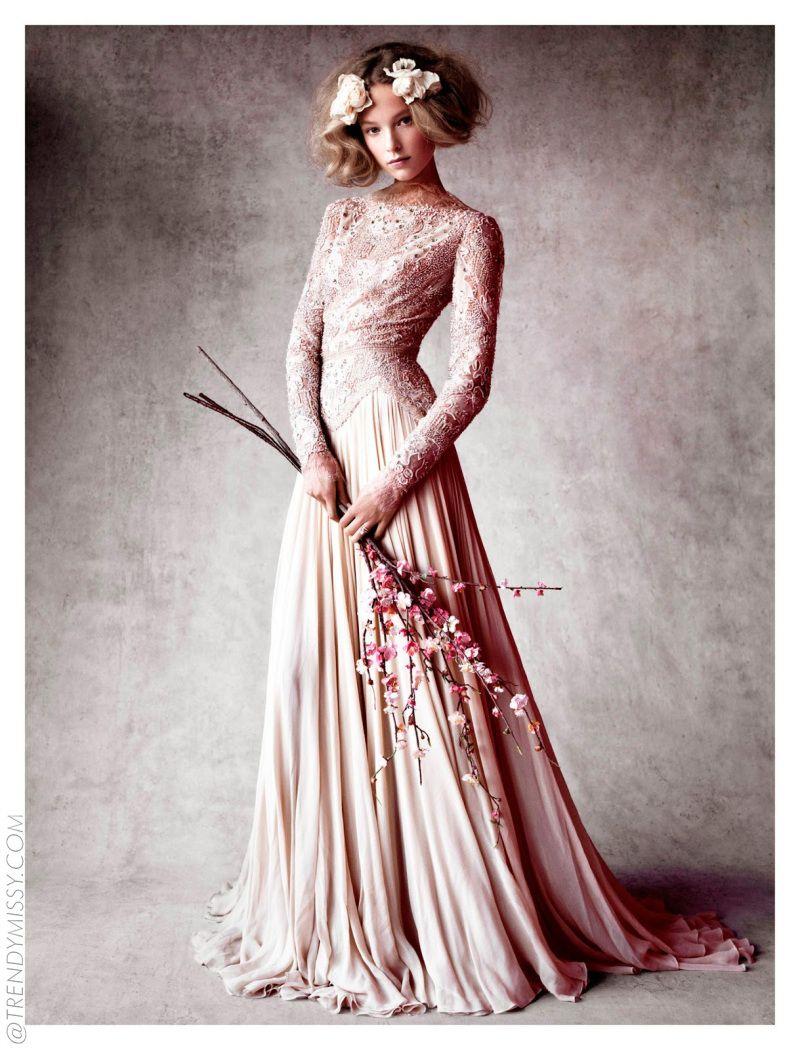 Pin von Irma Laura Romero auf Abendkleider lang  Hochzeitskleid
