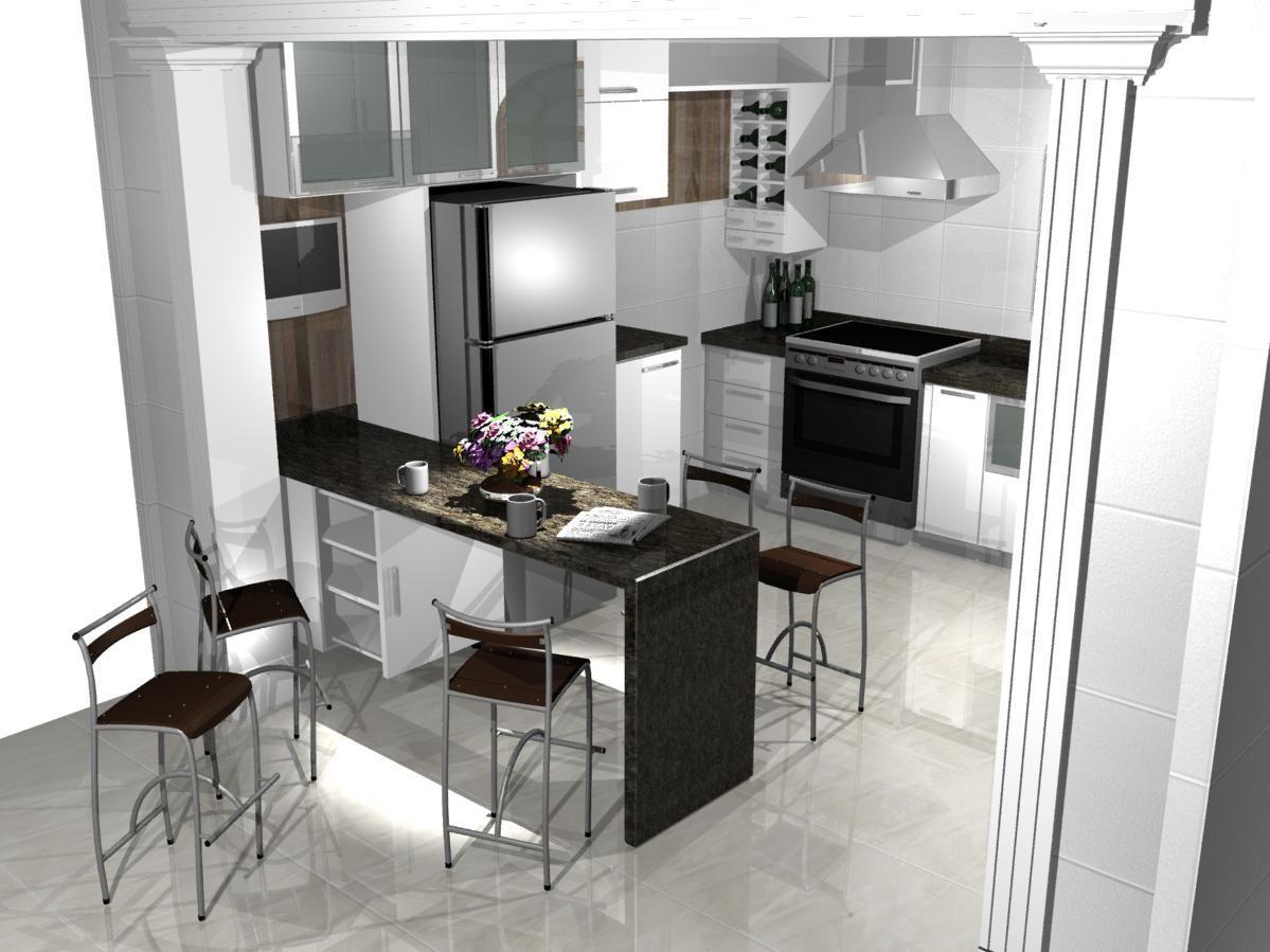 Cozinha Planejada Americana Pequena 3 Jpg 1199 899 Cozinhas By