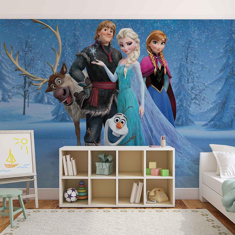 Frozen Children's Room: Frozen Elsa Anna Olaf Sven Photomural