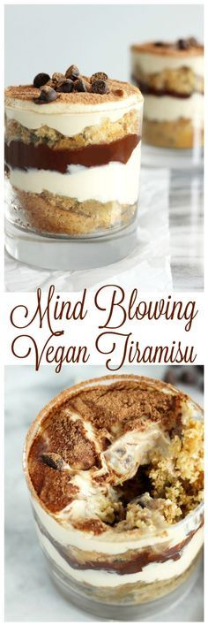 Mind Blowing Vegan Tiramisu -Entdeckt von Vegalife Rocks: www.vegaliferocks.de✨ I Fleischlos glücklich, fit & Gesund✨ I Follow me for more inspiration  @Vegalife Rocks Melanie