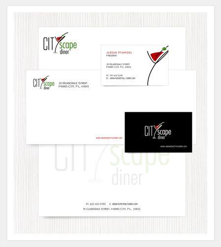 Letterhead, Business Card, Envelope Design Portfolio - Stationery - letterhead and envelope design