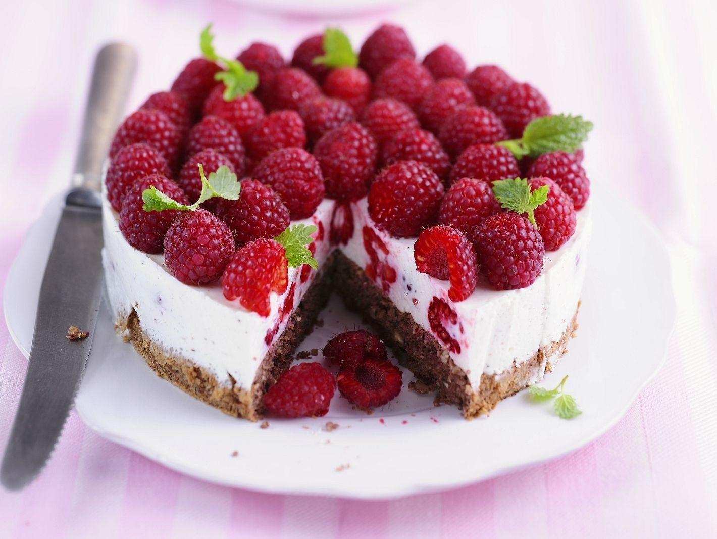 Himbeertorte Rezept Cakes Cheesecake Cake Und Desserts
