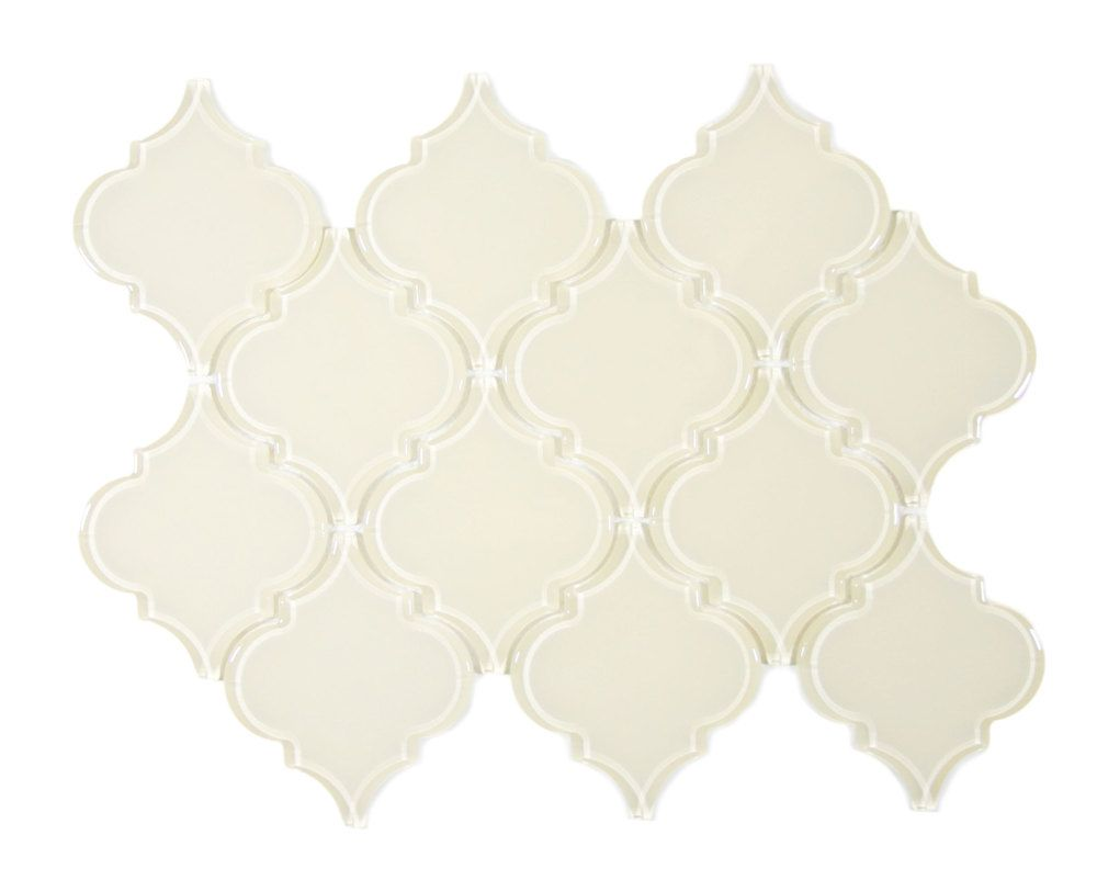 Cream Arabesque Glass Tile Arabesque Tile Glass Arabesque Tile Glass Arabesque Backsplash