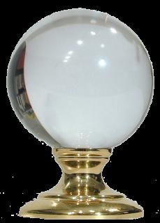 Wanbamodsias Crystal Ball Candle Magic Crystals