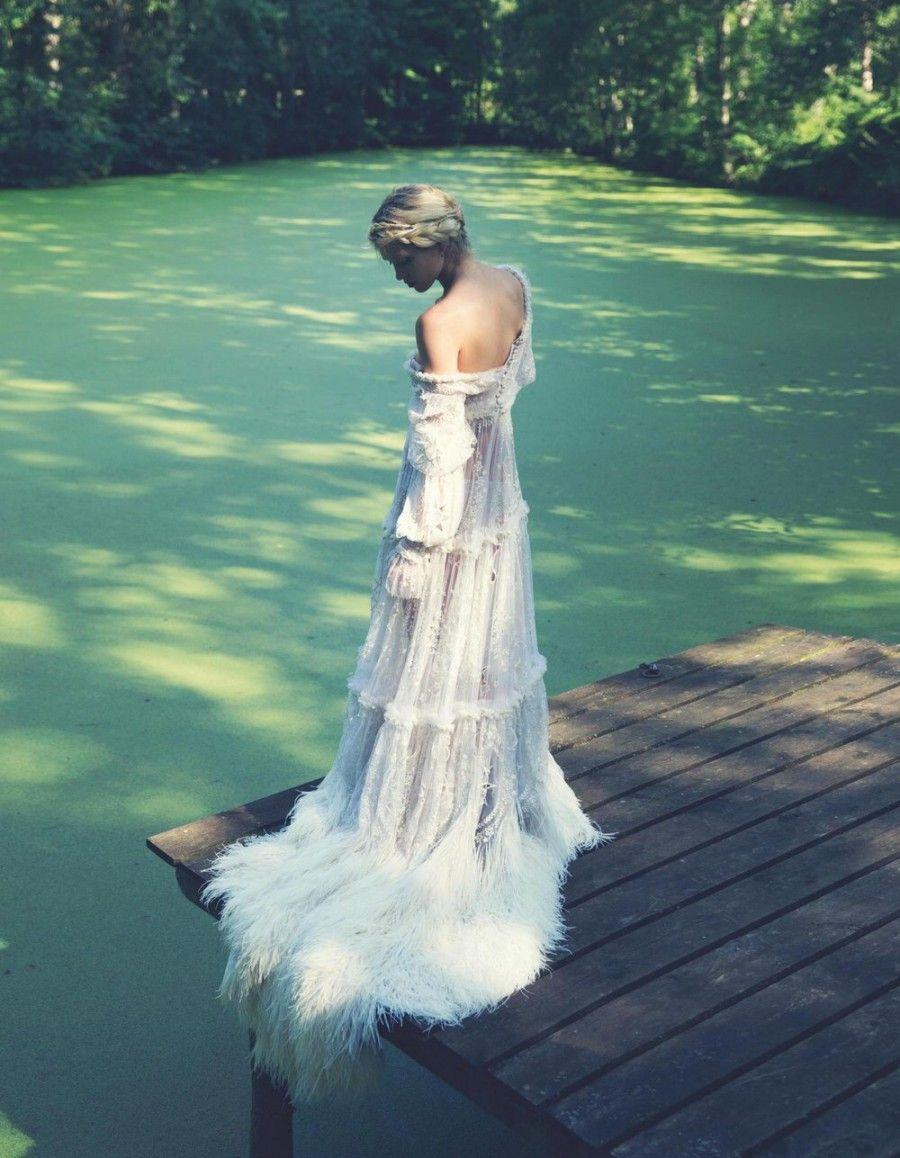 50 Beautiful Long Sleeve Wedding Dresses | Long sleeved wedding ...