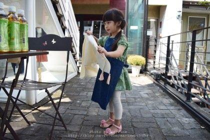 Girl  Dying fabric