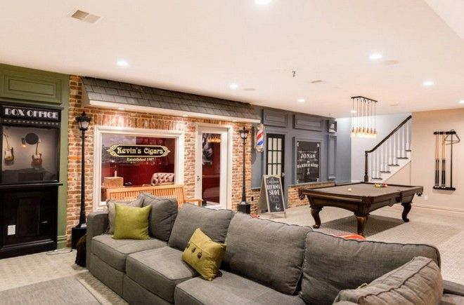 Kevin And Dani S Mini Town Inside Their House Inside Celebrity Homes Home Hamptons Style Homes